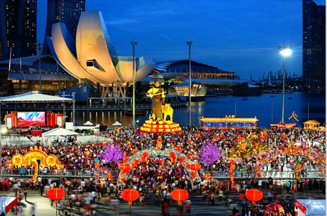 Tết Nguyên Đán là một sự kiện lớn trong cuộc sống của người Singapore