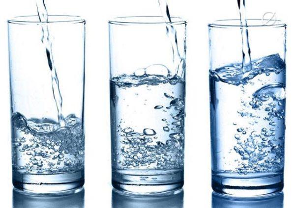 Chú ý về nước uống